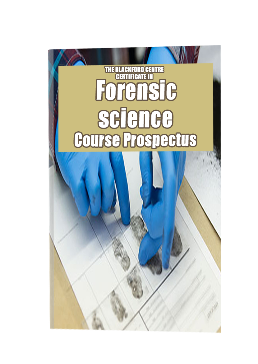 Forensic Science course brochure