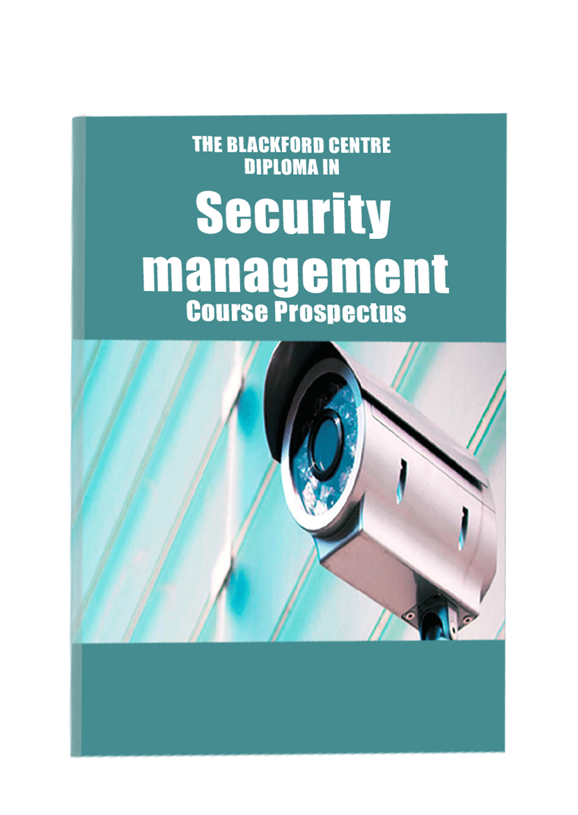Security Management Course brochure