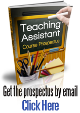 Teaching Assistant course brochure